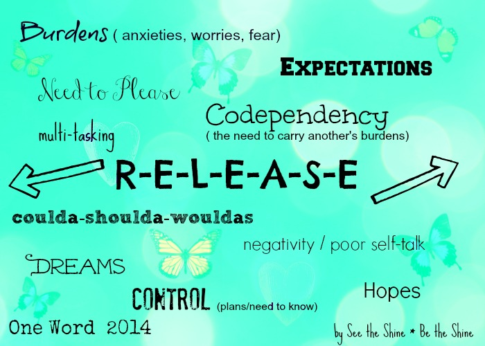 My Word for 2014 - RELEASE
